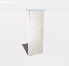 百叶帘(4)_Sketchup模型