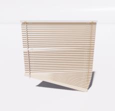 百叶帘3_Sketchup模型