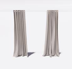 窗帘33_Sketchup模型
