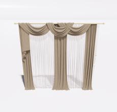 窗帘48_Sketchup模型