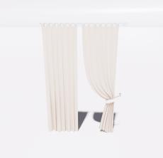 窗帘73_Sketchup模型