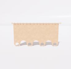 窗帘79_Sketchup模型