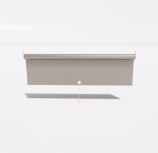 遮光卷帘_Sketchup模型