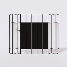 屏风隔断_20_Sketchup模型