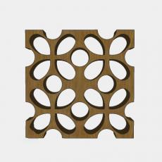 屏风隔断_42_Sketchup模型