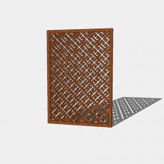 屏风隔断_50_Sketchup模型