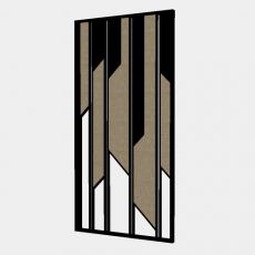 屏风隔断_71_Sketchup模型
