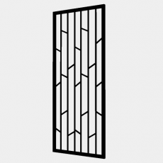 屏风隔断_73_Sketchup模型