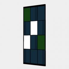 屏风隔断_79_Sketchup模型