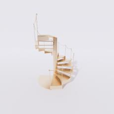 主体_楼梯10_Sketchup模型