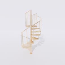 主体_楼梯11_Sketchup模型