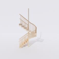 主体_楼梯13_Sketchup模型