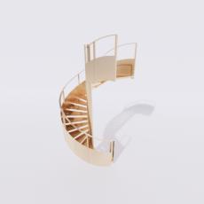 主体_楼梯14_Sketchup模型