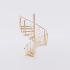 主体_楼梯17_Sketchup模型