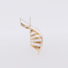 主体_楼梯18_Sketchup模型