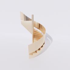 主体_楼梯1_Sketchup模型