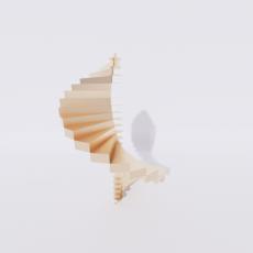 主体_楼梯23_Sketchup模型