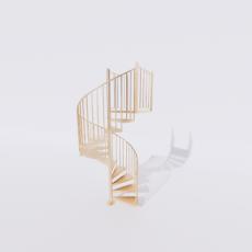主体_楼梯26_Sketchup模型