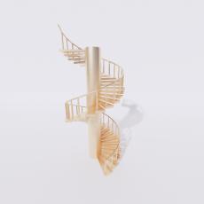 主体_楼梯27_Sketchup模型