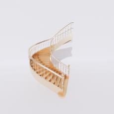 主体_楼梯28_Sketchup模型