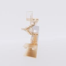 主体_楼梯29_Sketchup模型