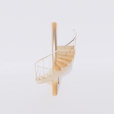 主体_楼梯30_Sketchup模型