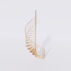 主体_楼梯3_Sketchup模型