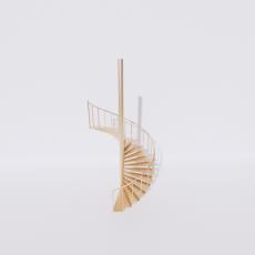 主体_楼梯6_Sketchup模型