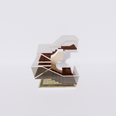 主体_楼梯8_Sketchup模型