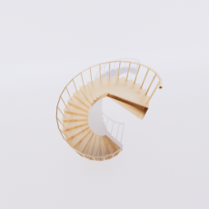 主体_楼梯9_Sketchup模型