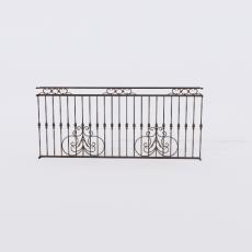 围栏_铁艺31_Sketchup模型