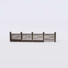 围栏_铁艺38_Sketchup模型