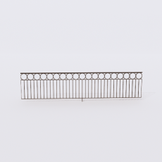 围栏_铁艺39_Sketchup模型