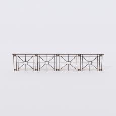 围栏_铁艺43_Sketchup模型