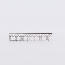 围栏_铁艺49_Sketchup模型