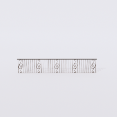 围栏_铁艺54_Sketchup模型