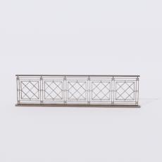 围栏_铁艺59_Sketchup模型