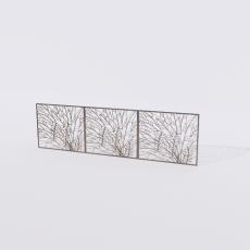 围栏_铁艺61_Sketchup模型