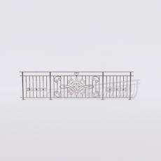 围栏_铁艺68_Sketchup模型
