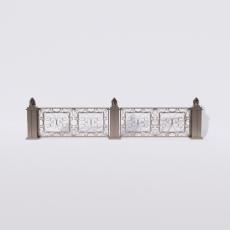 围栏_铁艺69_Sketchup模型