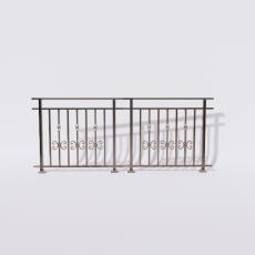 围栏_铁艺70_Sketchup模型