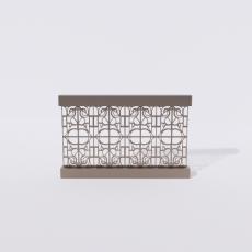 围栏_铁艺71_Sketchup模型