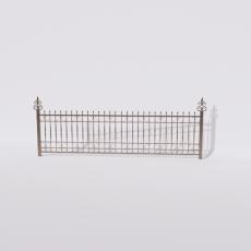 围栏_铁艺74_Sketchup模型