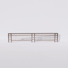 围栏_铁艺75_Sketchup模型
