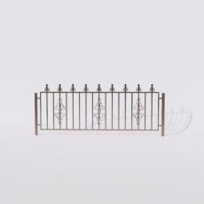 围栏_铁艺76_Sketchup模型