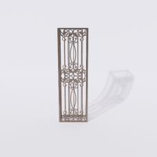 围栏_铁艺84_Sketchup模型
