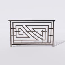 围栏_铁艺88_Sketchup模型