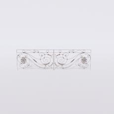 围栏_铁艺95_Sketchup模型