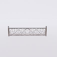 围栏_铁艺96_Sketchup模型