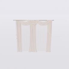 布幔_帘子238_Sketchup模型